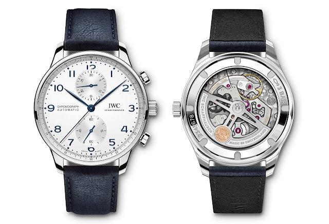 IWC TimberTex paper-based watch straps