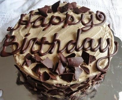 Happy Birthday Chanda Cake