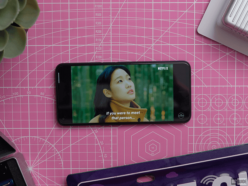 A phone with a good screen and strong speakers