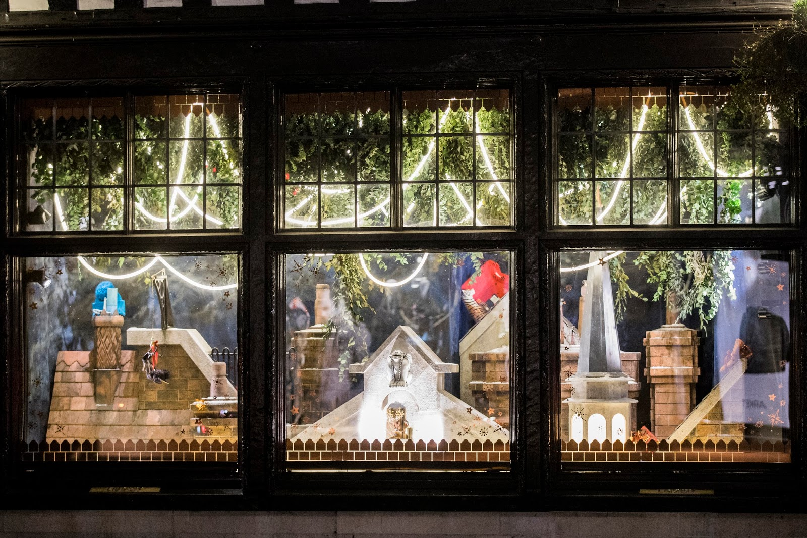 All About London Liberty London Christmas Windows For