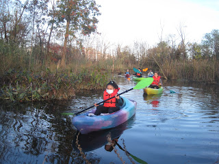 River NEAR exploring the marsh