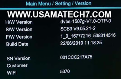 1507G NEW SOFTWARE | 1507G SCB3 RECEIVER SOFTWARE UPDATE