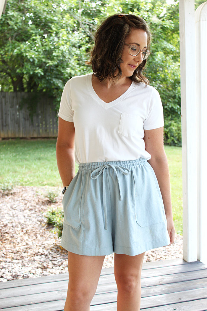 Deer and Doe Goji Shorts // Sewing For Women