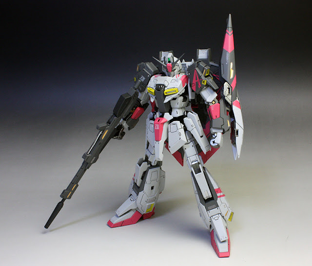 Rg 1 144 Zeta Gundam White Unicorn Colors Painted Build