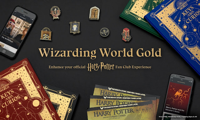 More Magic Awaits … Be the First to Unlock It With Wizarding World Gold