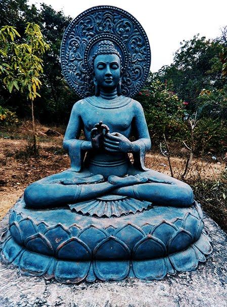 Meditation pose ,Travel