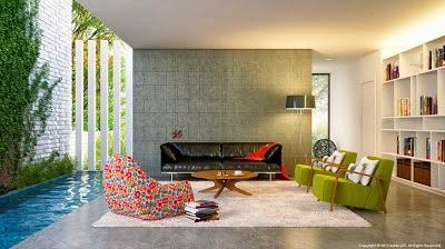 model rumah minimalis terbaru 2017 rancangan interior ruang keluarga