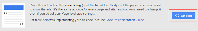 get page-level ad code