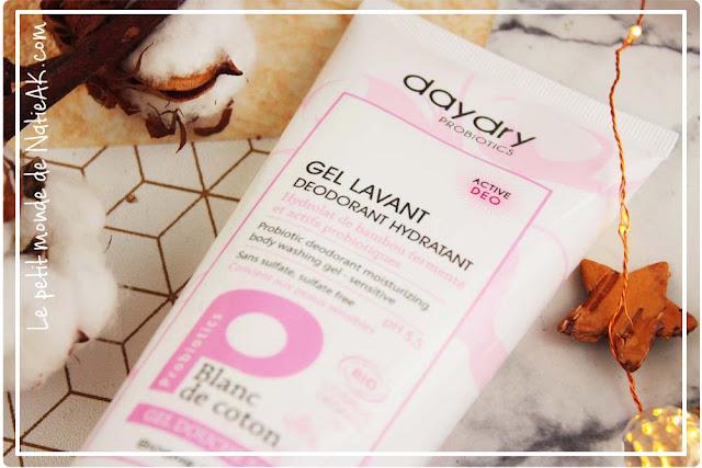 gel douche déodorant probiotique bio vegan cruelty free