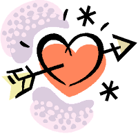 Arrow & heart illustration
