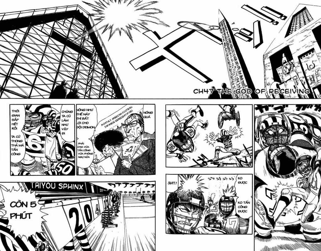 Eyeshield 21 chapter 47 trang 9