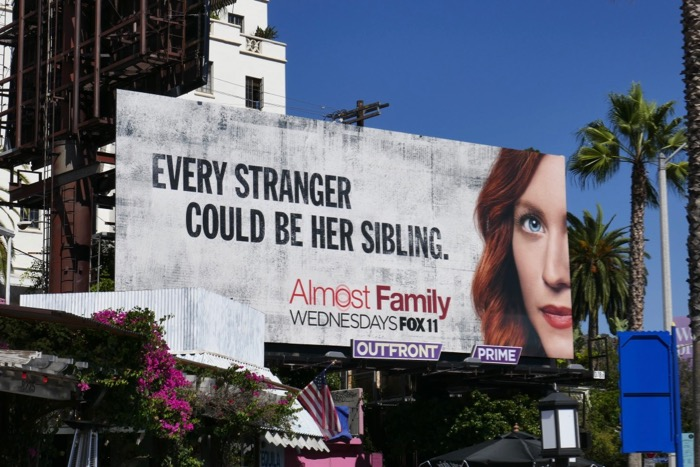 Brittany Snow Almost Family billboard