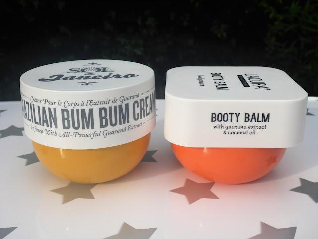 Aldi Lacura Booty Balm v Sol de Janeiro Brazilian Bum Bum Cream