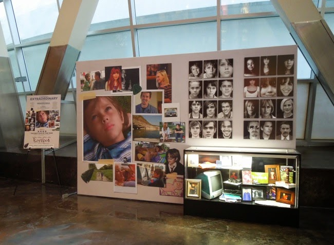 Boyhood movie prop exhibit