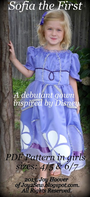 INTRODUCING my Sofia the First Pattern….