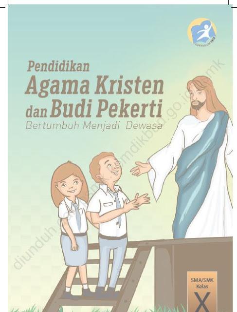 Buku Pendidikan Agama Kristen dan Budi Pekerti kelas 10 SMK