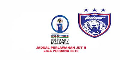 Jadual Perlawanan JDT II Liga Perdana 2019