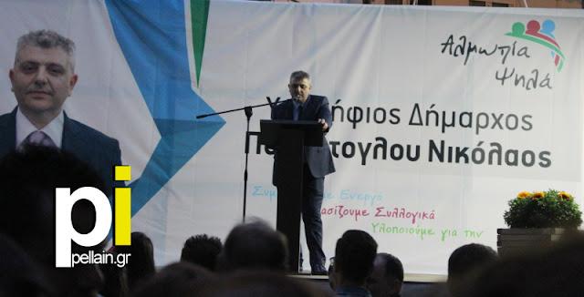 ΚΕΝΤΡΙΚΗ ΟΜΙΛΙΑ ΠΑΡΟΥΤΟΓΛΟΥ ΝΙΚΟΛΑΟΥ