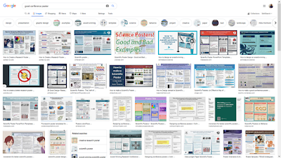 Google image search for good conference poster