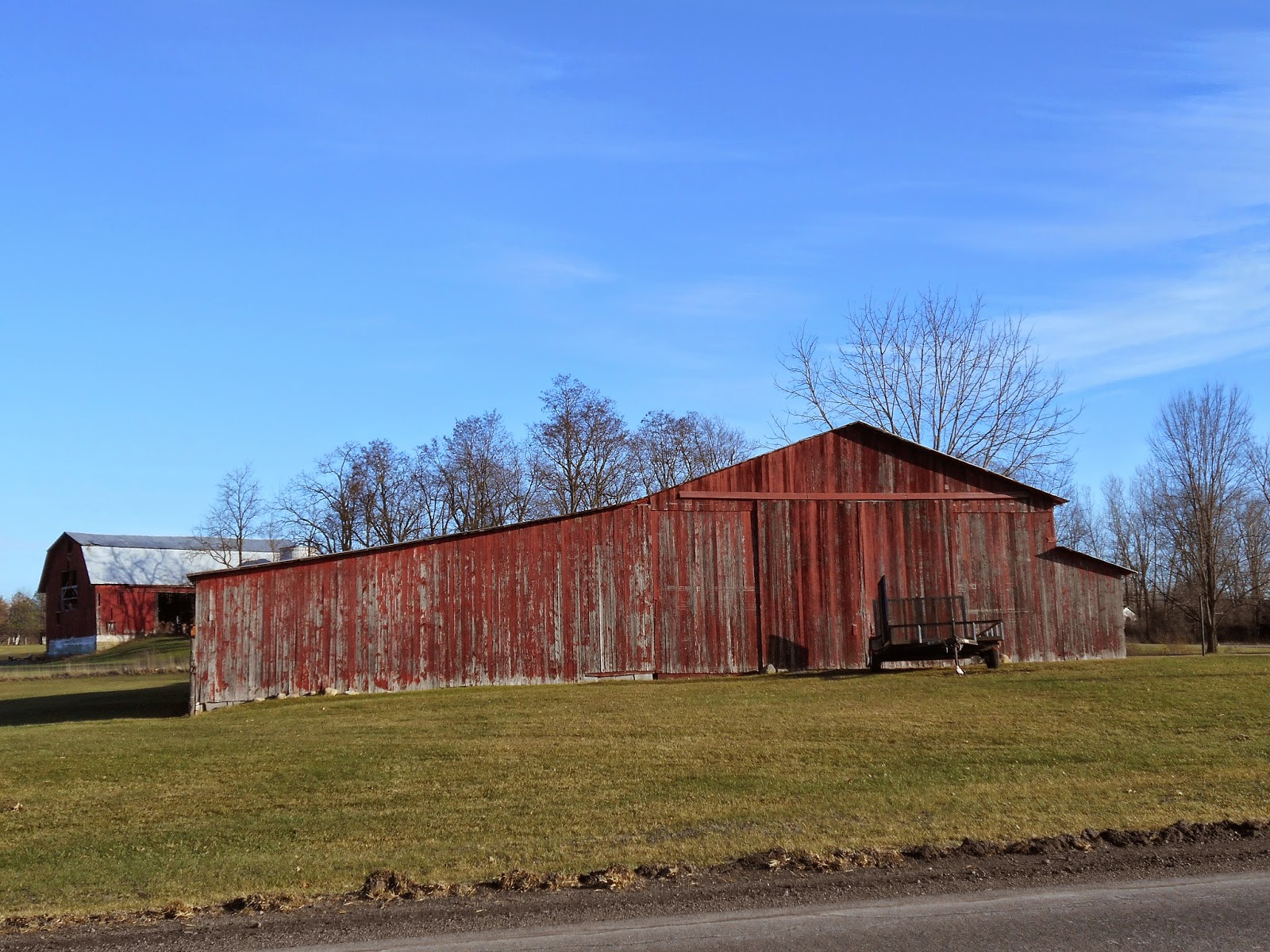 New York State of Mind: OLD BARNS - SOME STILL USED TODAY