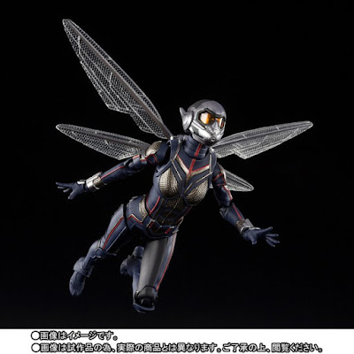 """S.H.Figuarts The Wasp de """"Ant-Man y La Avispa"""" - Tamashii Nations"""