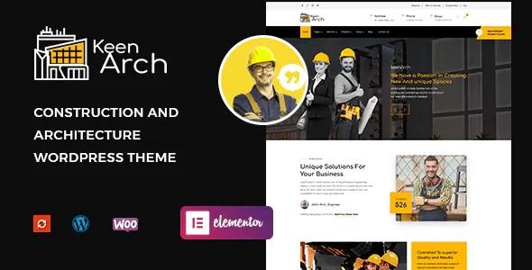Best Building & Construction WordPress Theme