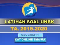 Latihan Soal UN UNBK UNKP Geografi SMA Tahun 2020