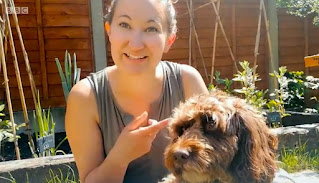 Laura and Dog Riley from Poole in  Dorset