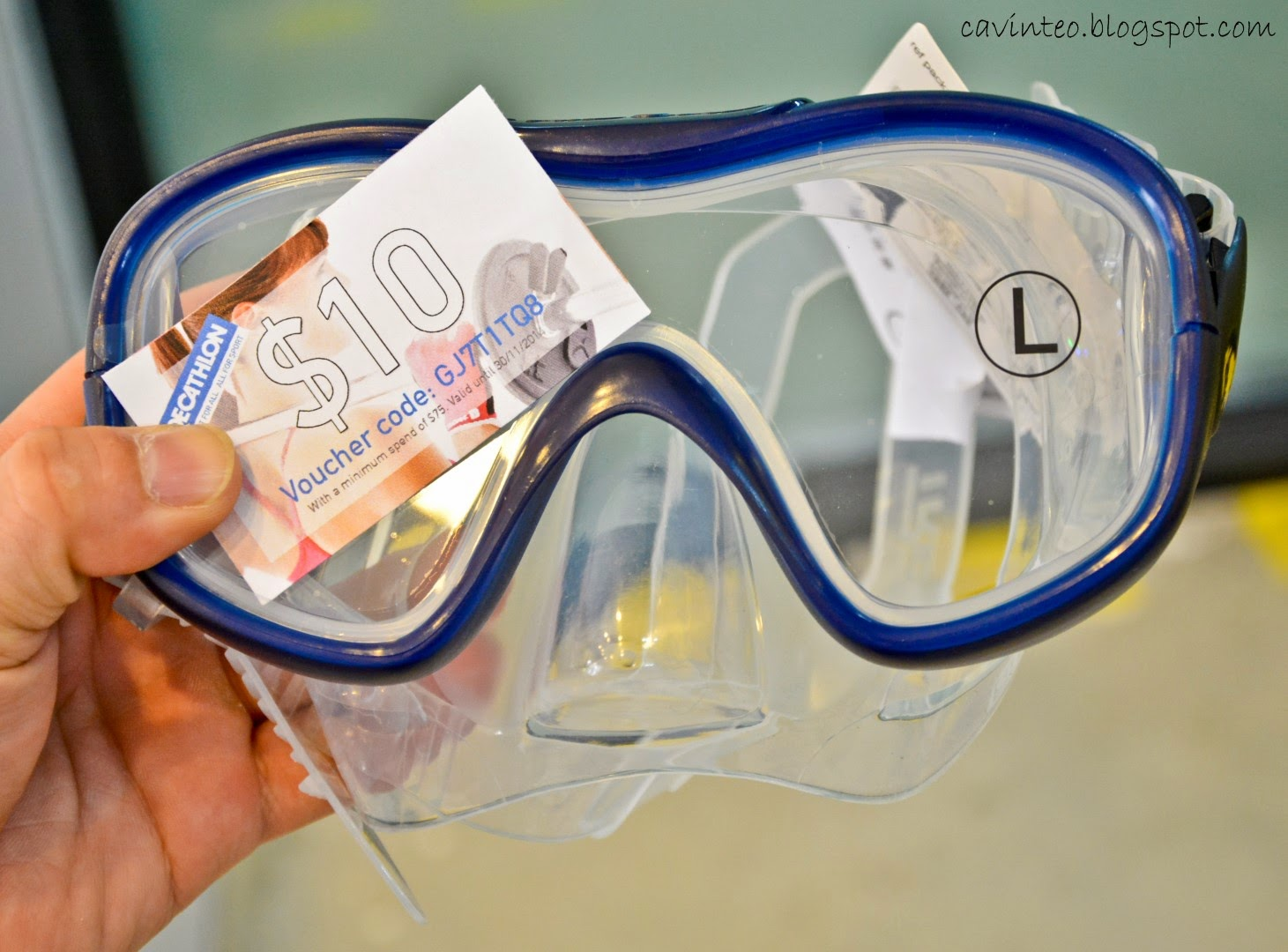 b58fa08e10 Entree Kibbles  Getting My Hands on EasyBreath Snorkeling Mask ...