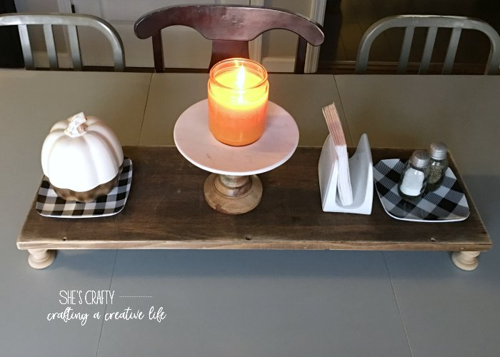 candles, burn candles, candle on kitchen table, plaid plates