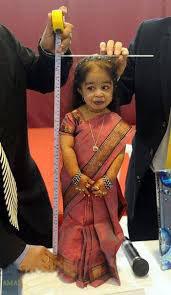 أقصر امرأة في العالم