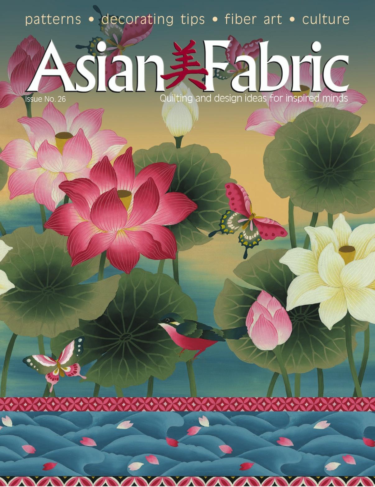Asian Fabrics Magazine 86