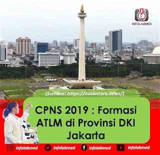 CPNS 2019 : Formasi ATLM di Provinsi DKI Jakarta
