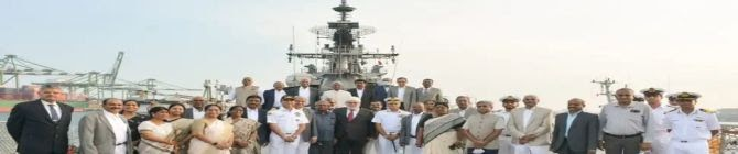Madras High Court Judges' Day Out: 29 Judges Get Guided Tour of Destroyer INS Rana