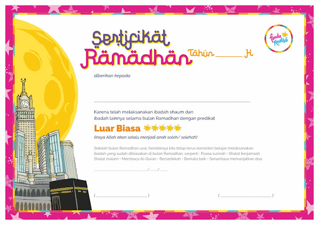 Sertifikat Ramadhan Kreativa