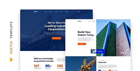 Best Construction Company Template