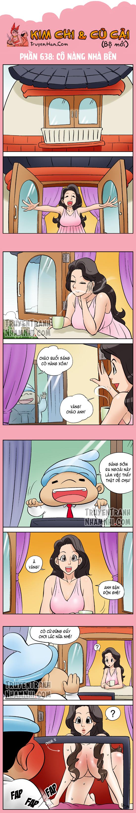 Kim Chi & Củ Cải (bộ mới) phần 638: Cô nàng nhà bên