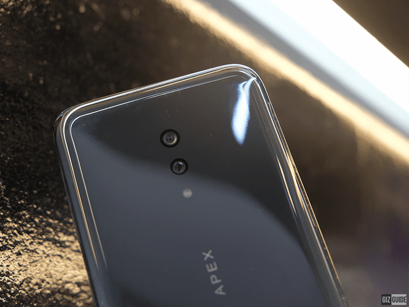 Rear Dual cameras with LED flash