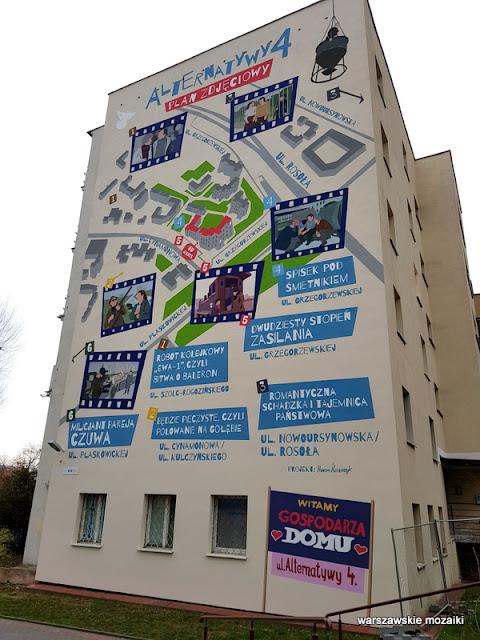 Mural warszawskie murale warszawa warsaw ursynów