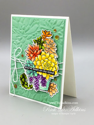 My top 10 tips on finding inspiration for card makers and papercrafters, and my Simply Colorful Succulents Card  Click here