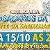 CRUZADA MENSAGEIRO DA PAZ DIA 15 DE OUTUBRO AS 22
