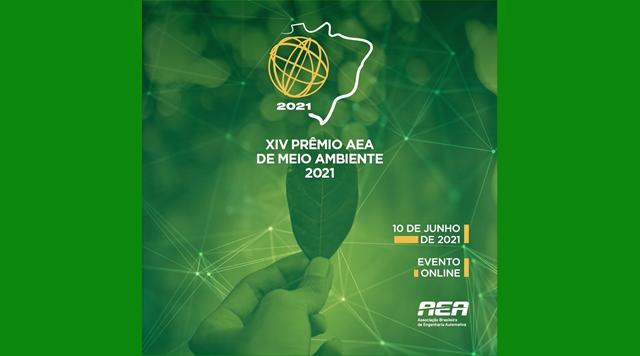 Em evento online, AEA anuncia vencedores do XIV Prêmio de Meio Ambiente