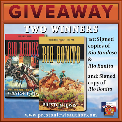 Rio Bonito tour giveaway graphic. Prizes to be awarded precede this image in the post text.