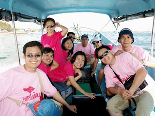 Glass Bottom Boat di tanjung benoa