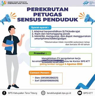 Rekrutmen Badan Pusat Statistik