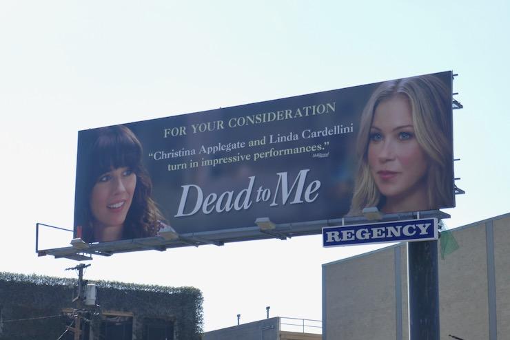 Dead to Me season 2 FYC billboard