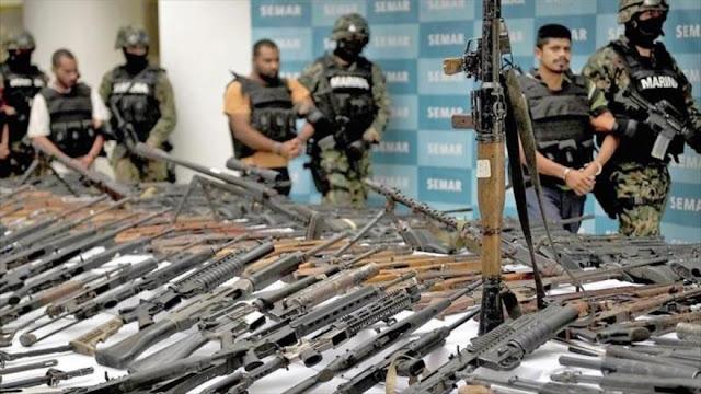 México demanda cese de tráfico ilegal de armas estadounidenses