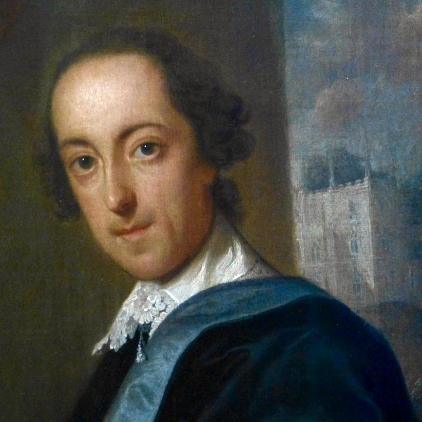 Horace Walpole from a portrait by John Giles Eccardt (1747-8)