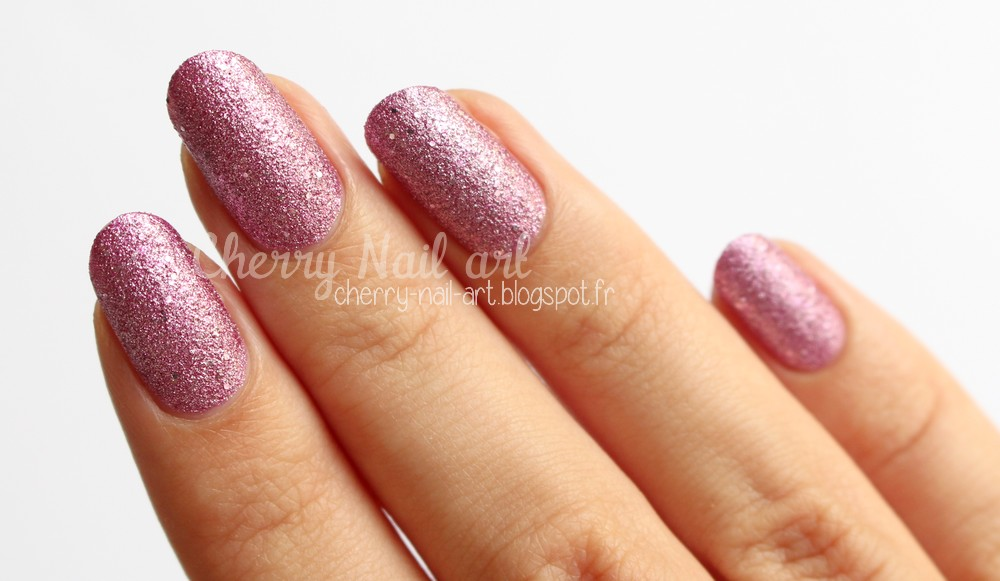 Vernis texturé Orly Pink pixel collection mega pixel fx