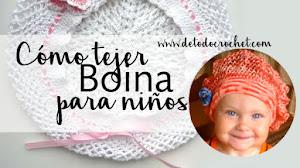 Cómo tejer una boina para bebés y niños / Paso a paso